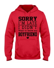 BOYFRIEND AND GIRLFRIEND Hooded Sweatshirt front