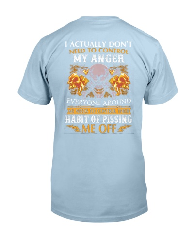I DON'T NEED TO CONTROL MY ANGER