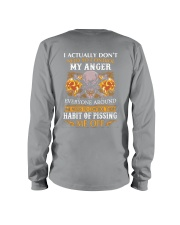 I DON'T NEED TO CONTROL MY ANGER Long Sleeve Tee thumbnail