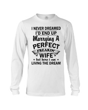 I'M MARRYING A PERFECT WIFE version Long Sleeve Tee thumbnail