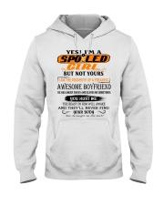 AWESOME BOYFRIEND Hooded Sweatshirt front