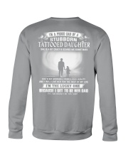 I'M A PROUD DAD OF A STUBBORN DAUGHTER Crewneck Sweatshirt thumbnail