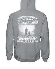 I'M A PROUD DAD OF A STUBBORN DAUGHTER Hooded Sweatshirt thumbnail
