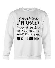 BEST FRIEND Crewneck Sweatshirt thumbnail