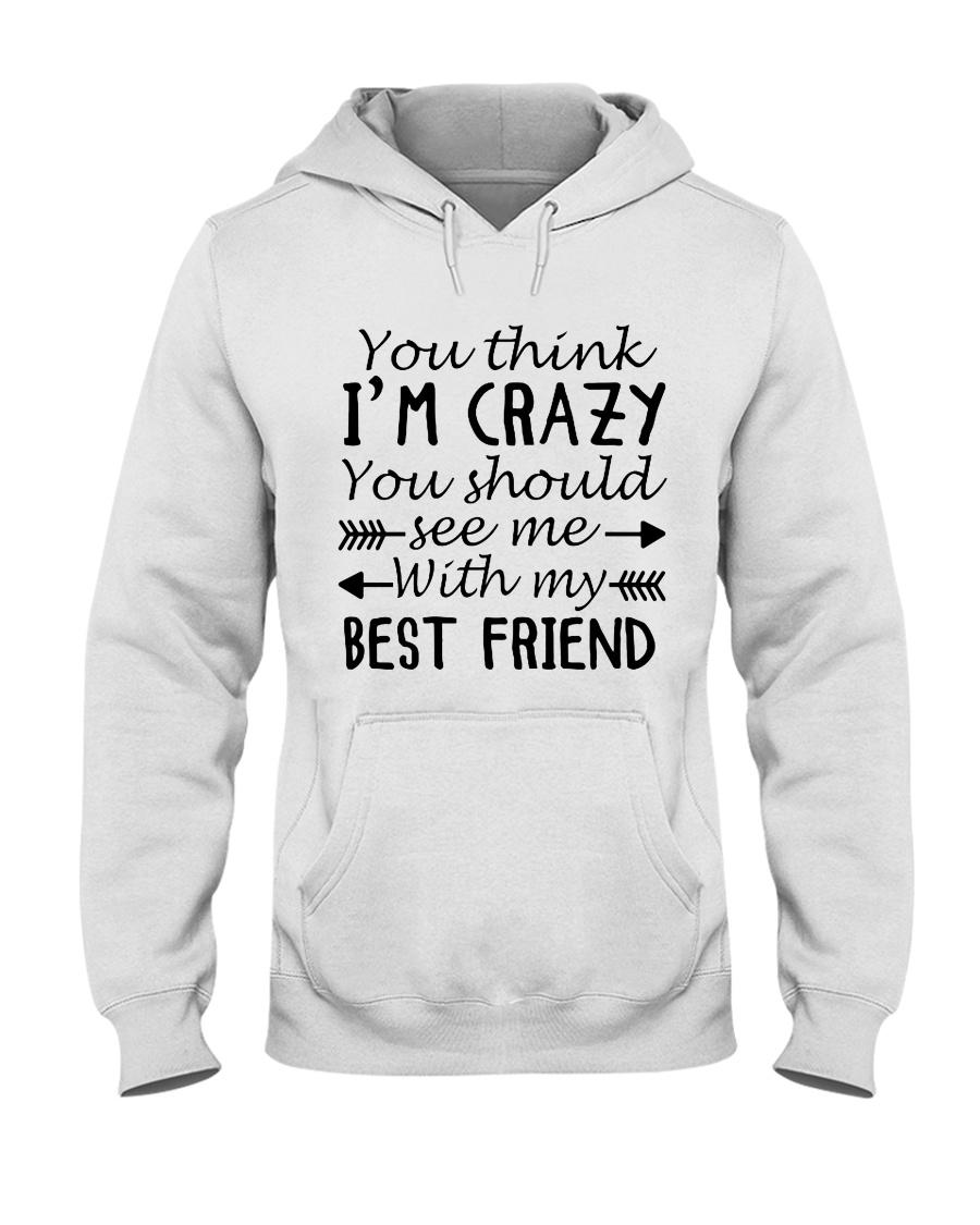 BEST FRIEND Hooded Sweatshirt