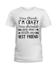 BEST FRIEND Ladies T-Shirt thumbnail