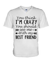 BEST FRIEND V-Neck T-Shirt thumbnail