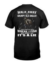 GRUMPY OLD ANGLER Classic T-Shirt back