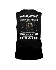 GRUMPY OLD ANGLER Sleeveless Tee tile