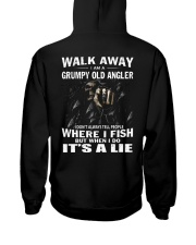 GRUMPY OLD ANGLER Hooded Sweatshirt tile
