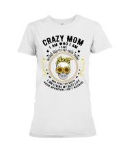 CRAZY MOM - TATTOOS Premium Fit Ladies Tee thumbnail