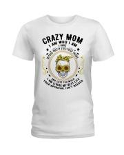 CRAZY MOM - TATTOOS Ladies T-Shirt thumbnail