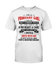 CRAZY GIRL 2 Classic T-Shirt thumbnail