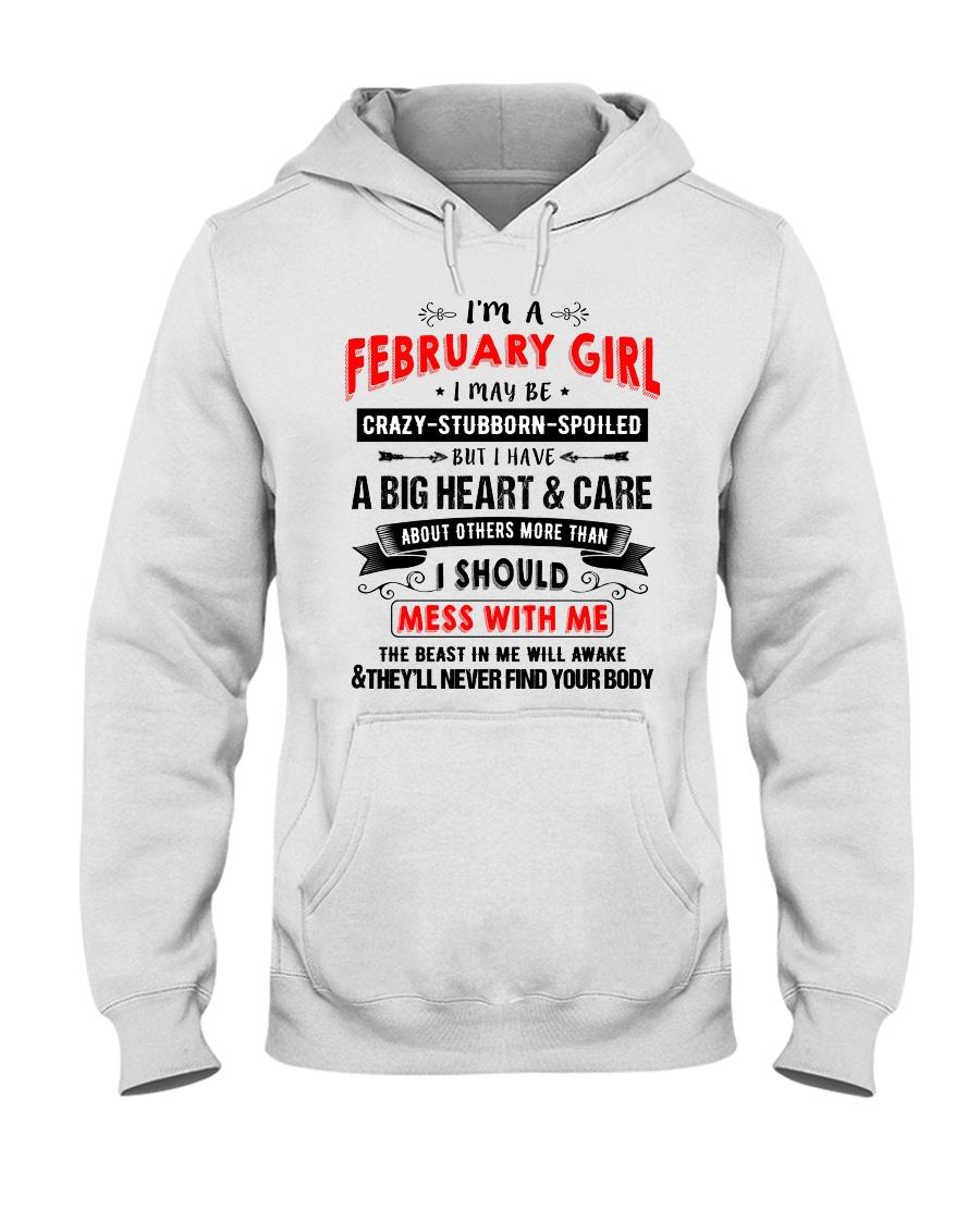 CRAZY GIRL 2 Hooded Sweatshirt