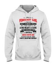 CRAZY GIRL 2 Hooded Sweatshirt front