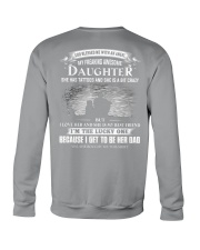 GOD BLESSED ME WITH AN ANGLE - MY AWESOME DAUGHTER Crewneck Sweatshirt thumbnail