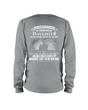 GOD BLESSED ME WITH AN ANGLE - MY AWESOME DAUGHTER Long Sleeve Tee thumbnail