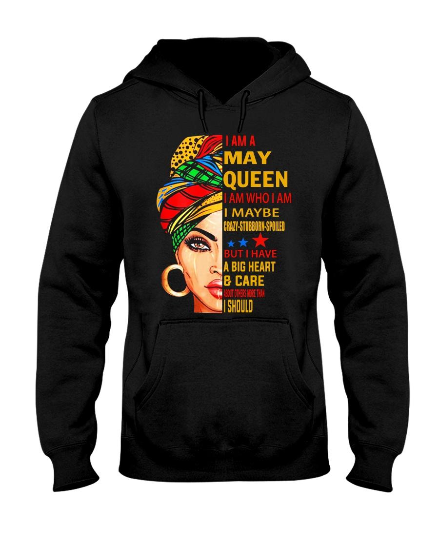 QUEEN-MAY Hooded Sweatshirt