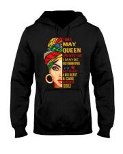 QUEEN-MAY Hooded Sweatshirt front