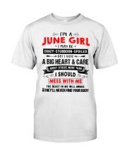 CRAZY GIRL 6 Classic T-Shirt thumbnail