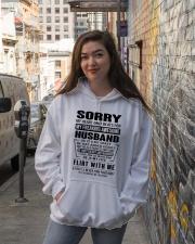 HUSBAND - NOTT Hooded Sweatshirt lifestyle-unisex-hoodie-front-1