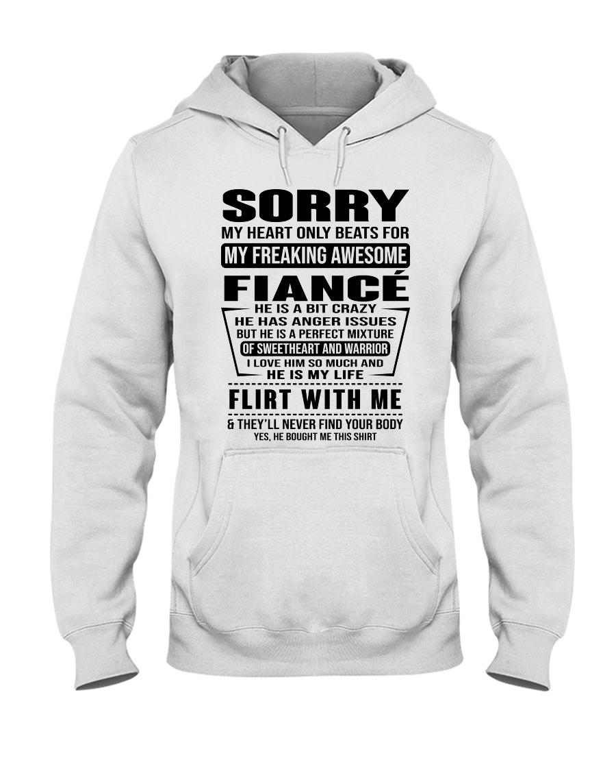 FIANCE - NOTT Hooded Sweatshirt