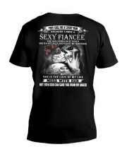 SEXY FIANCEE 10 V-Neck T-Shirt tile