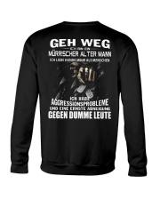 ALTER MANN - LIEBE HUNDE Crewneck Sweatshirt thumbnail