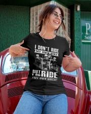 Limited version - My biker Ladies T-Shirt apparel-ladies-t-shirt-lifestyle-01
