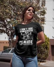 Limited version - My biker Ladies T-Shirt apparel-ladies-t-shirt-lifestyle-02