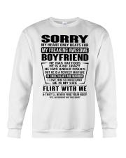 SORRRY-BOYFRIEND-TATTOOS Crewneck Sweatshirt thumbnail
