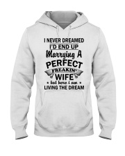 I'M MARRYING A PERFECT WIFE Hooded Sweatshirt front