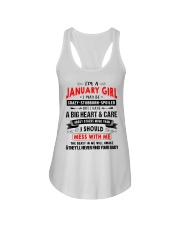 CRAZY GIRL 1 Ladies Flowy Tank thumbnail