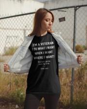 I'M A VETERAN Classic T-Shirt apparel-classic-tshirt-lifestyle-07