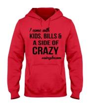 Limited Editon Prints - Single Mom  Hooded Sweatshirt front