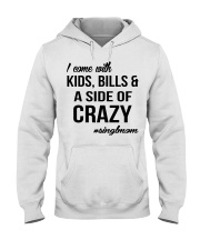 Limited Editon Prints - Single Mom  Hooded Sweatshirt front