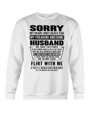 MY FREAKING AWESOME HUSBAND- version Crewneck Sweatshirt thumbnail