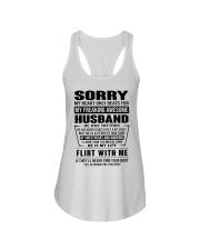MY FREAKING AWESOME HUSBAND- version Ladies Flowy Tank thumbnail