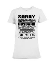 MY FREAKING AWESOME HUSBAND- version Premium Fit Ladies Tee thumbnail