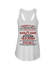 SPOILED DAUGHTER OF CRAZY DAD Ladies Flowy Tank thumbnail