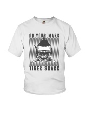 On Your Mark Tiger Shark Youth T-Shirt thumbnail