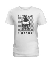 On Your Mark Tiger Shark Ladies T-Shirt thumbnail