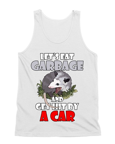 Let's Eat Garbage and Get Hit By a Car  Opossum
