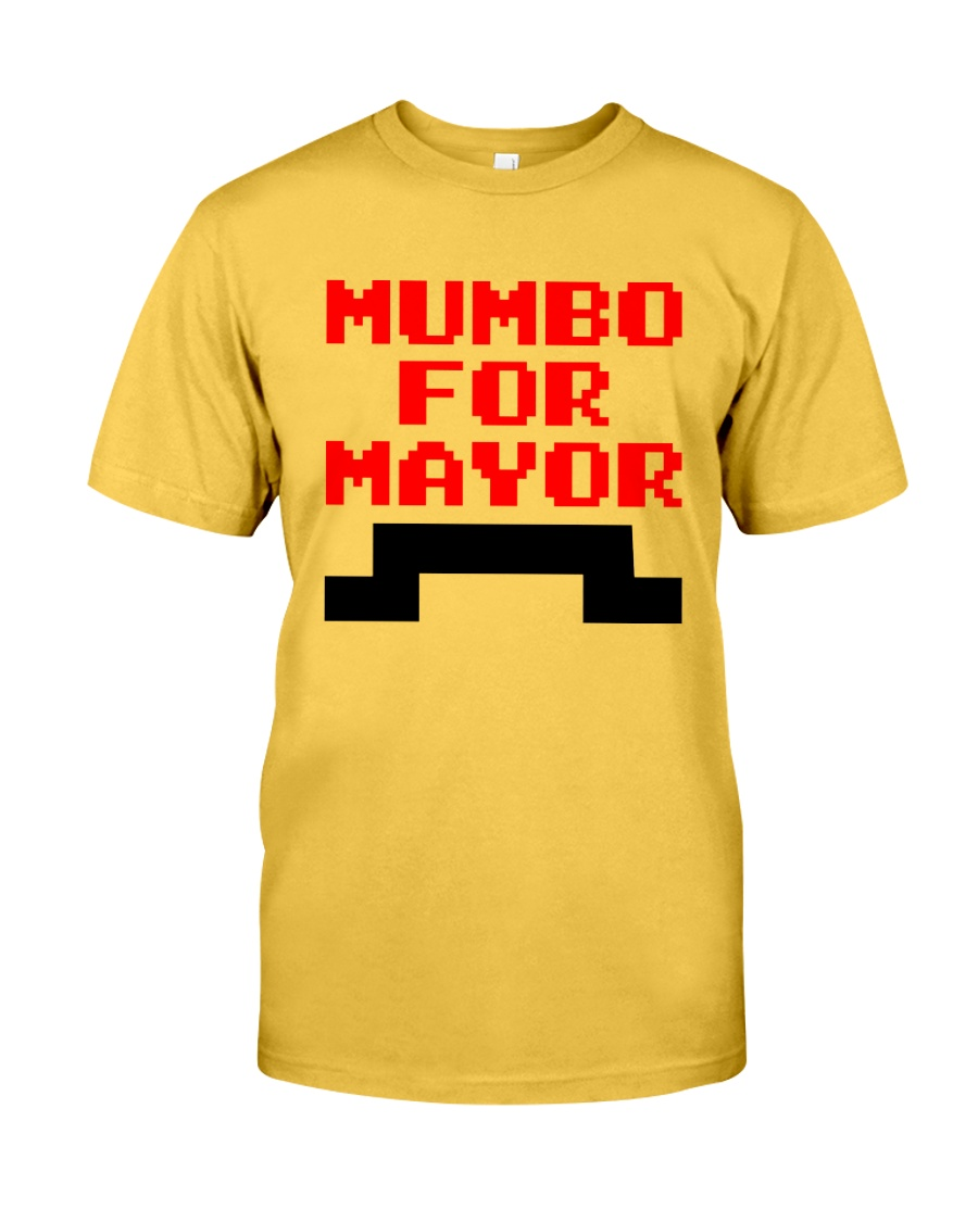 mumbo for mayor funny pixels funny Classic T-Shirt