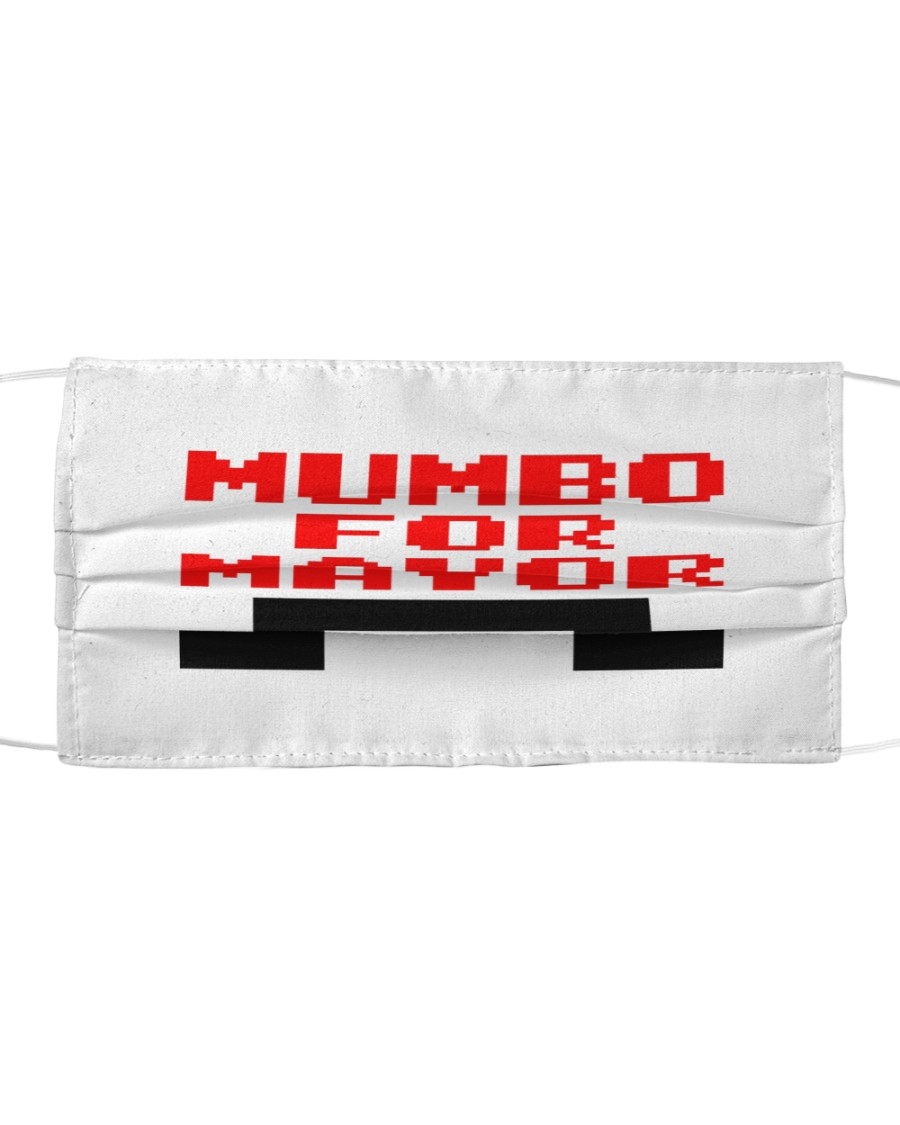 mumbo for mayor funny pixels funny Cloth face mask