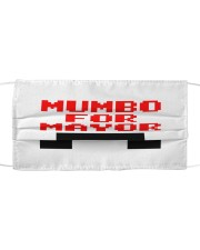 mumbo for mayor funny pixels funny Cloth face mask front