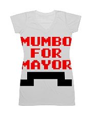 mumbo for mayor funny pixels funny All-over Dress thumbnail