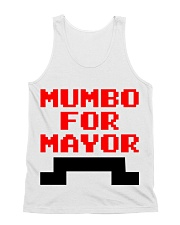 mumbo for mayor funny pixels funny All-over Unisex Tank thumbnail