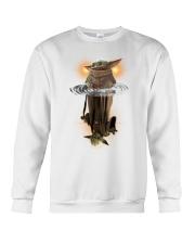 Yoda child water reflect yoda star war Crewneck Sweatshirt thumbnail