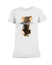 Yoda child water reflect yoda star war Premium Fit Ladies Tee thumbnail